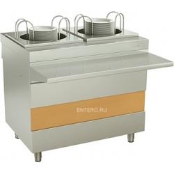 Модуль для подогрева тарелок ATESY Ривьера 2-х секц. 950 мм