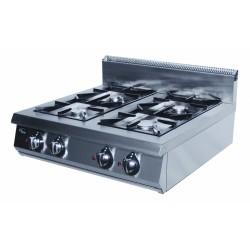 Плита газовая 4-х горелочная настольная Grill Master Ф4ПГ/800