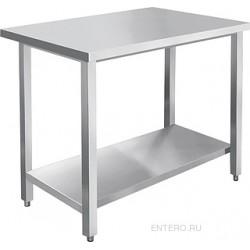 Стол производственный Abat СПРО-6-7 каркас из нерж. стали, с полкой